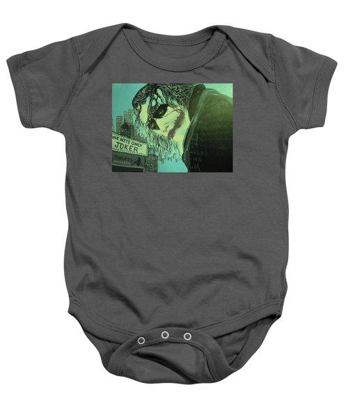 Joker Baby Onesie by Scott Murphy
