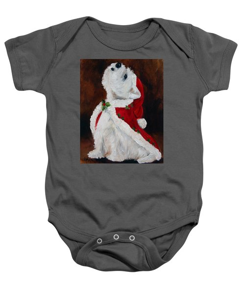 Joy To The World Baby Onesie by Mary Sparrow