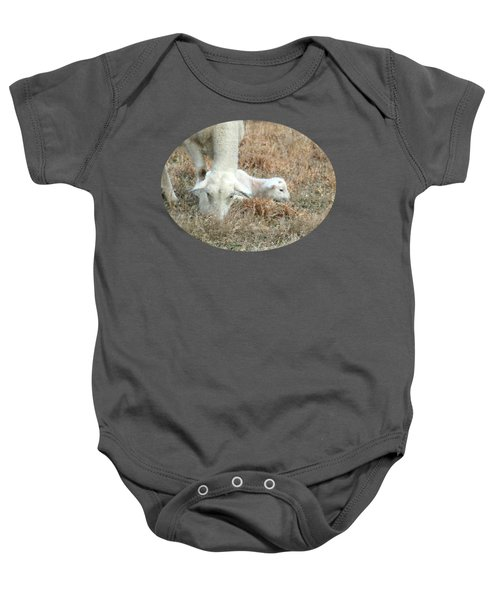 L Is For Lamb Baby Onesie by Anita Faye