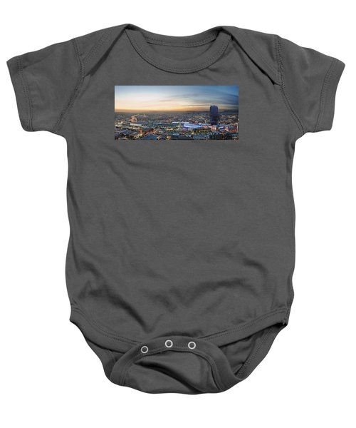 Los Angeles West View Baby Onesie by Kelley King