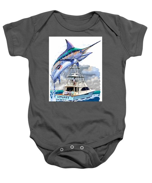 Marlin Commission  Baby Onesie by Carey Chen