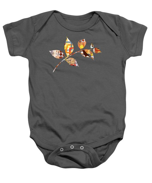 Never A Dull Moment Baby Onesie by Florentina Maria Popescu