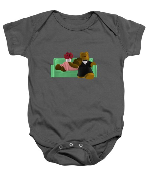 New Couch Baby Onesie by Jason Sharpe