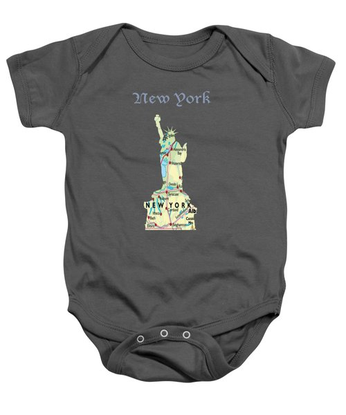 New York Baby Onesie by Art Spectrum