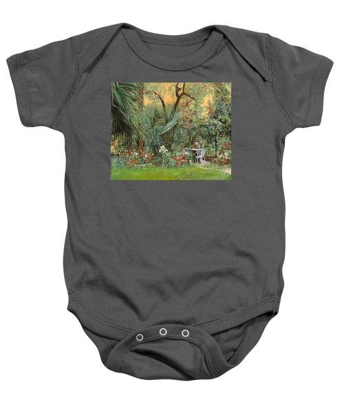 Our Little Garden Baby Onesie by Guido Borelli
