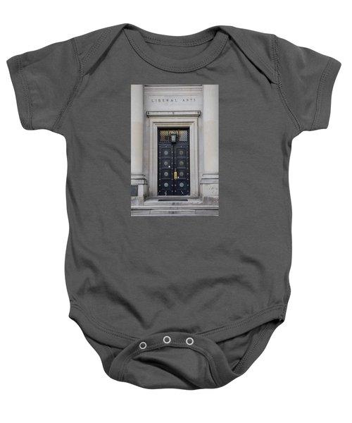 Penn State University Liberal Arts Door  Baby Onesie by John McGraw