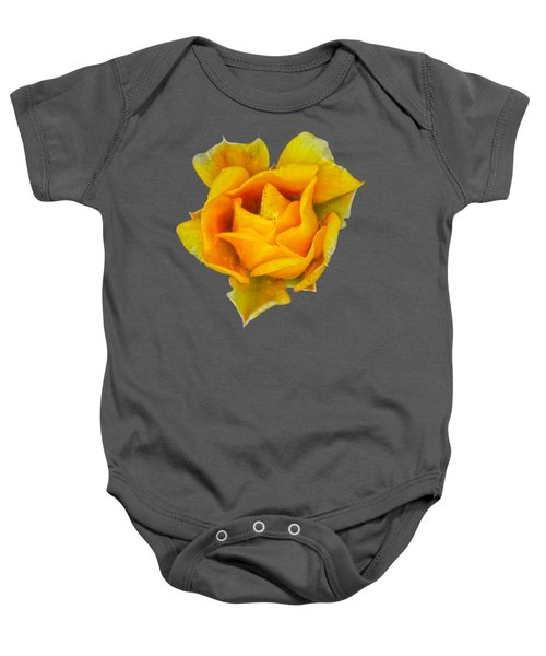 Prickly Pear Flower H11 Baby Onesie by Mark Myhaver