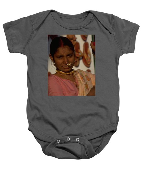 Baby Onesie featuring the photograph Rajasthan by Travel Pics