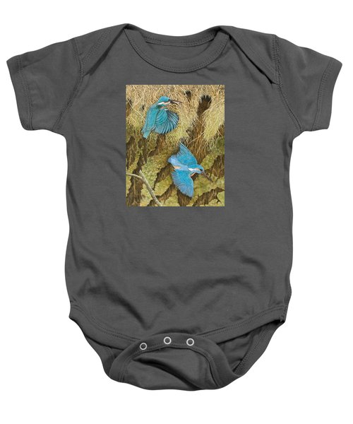 Sharing The Caring Baby Onesie by Pat Scott