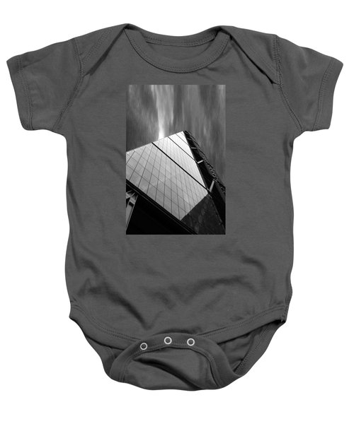 Sharp Angles Baby Onesie by Martin Newman