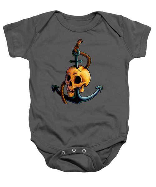 Skullchor Baby Onesie by Vicki Von Doom