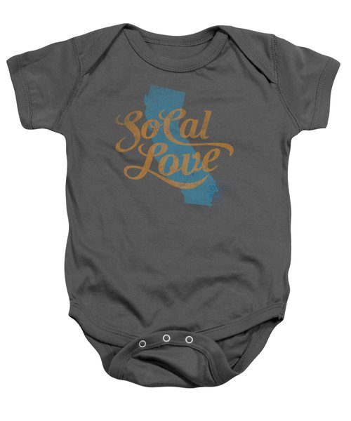 Socal Love Baby Onesie by Jason Richard
