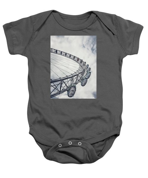 Spin Me Around Baby Onesie by Evelina Kremsdorf