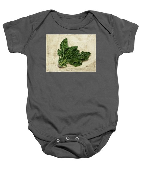 Spinaci Baby Onesie by Guido Borelli