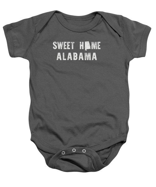 Sweet Home Alabama Baby Onesie by Nancy Ingersoll