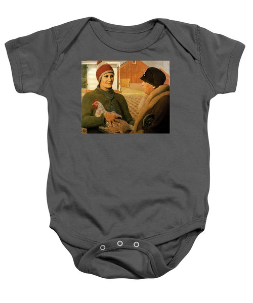 The Appraisal Baby Onesie by Celestial Images