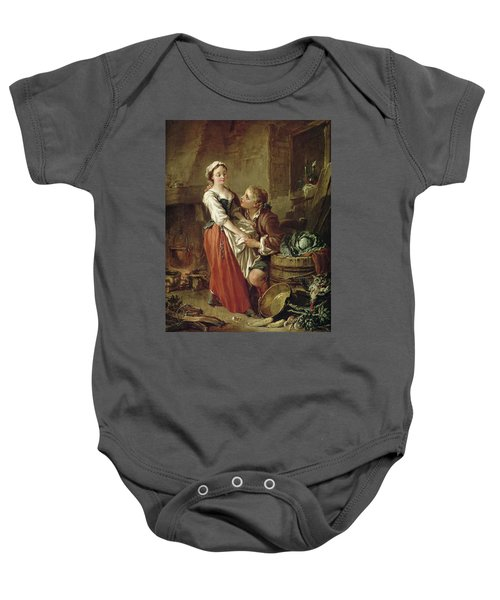 The Beautiful Kitchen Maid Baby Onesie by Francois Boucher