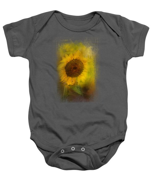 The Happiest Flower Baby Onesie by Jai Johnson