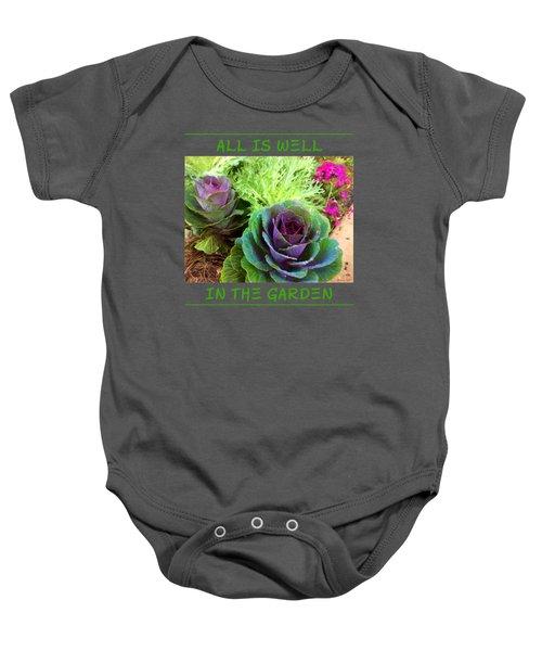 The Healing Garden Baby Onesie by Korrine Holt
