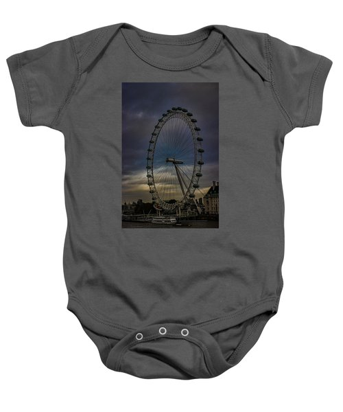 The London Eye Baby Onesie by Martin Newman