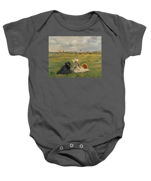 The Swallows Baby Onesie by Edouard Manet