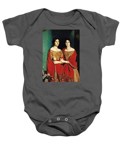 The Two Sisters Baby Onesie by Theodore Chasseriau