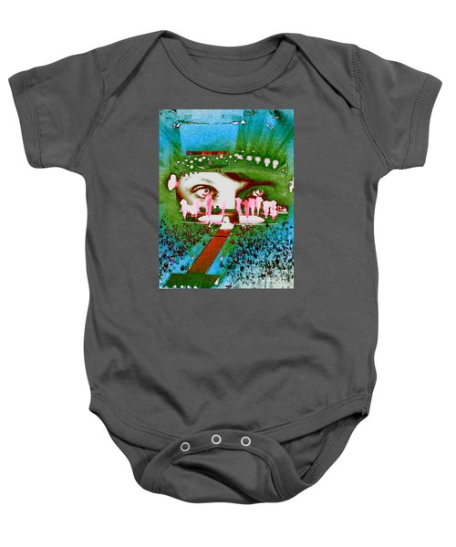 Through The Eyes Of Taylor Baby Onesie by Kim Peto