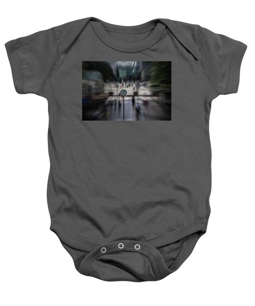 Time Traveller Baby Onesie by Martin Newman