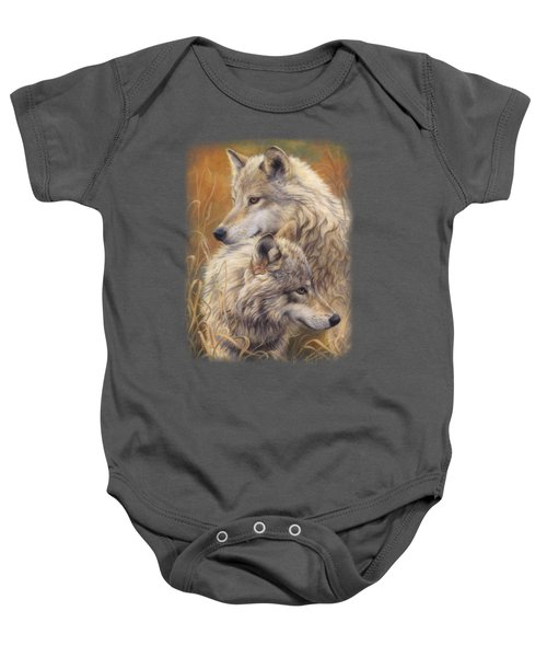 Together Baby Onesie by Lucie Bilodeau