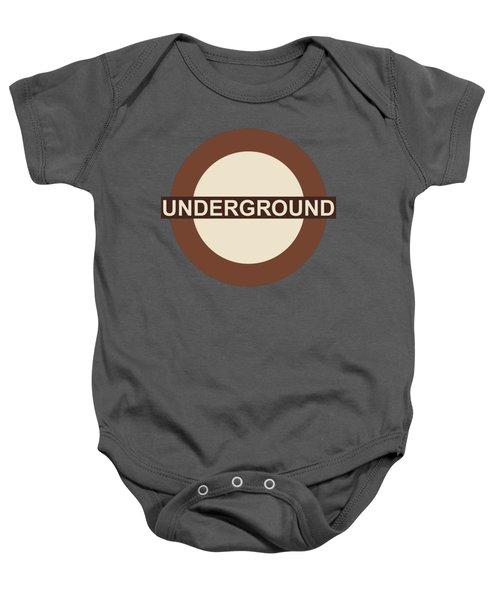 Underground75 Baby Onesie by Saad Hasnain