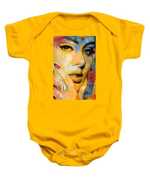 Adele Baby Onesie by Corporate Art Task Force