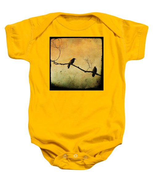Crowded Branch Baby Onesie by Gothicolors Donna