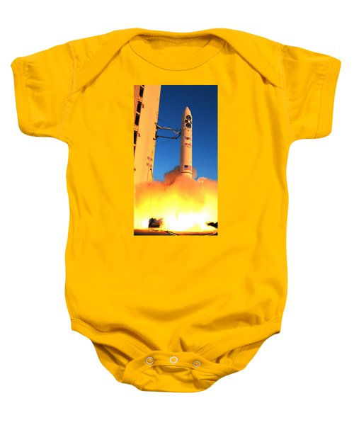 Minotaur Iv Rocket Launches Falconsat-5 Baby Onesie by Science Source