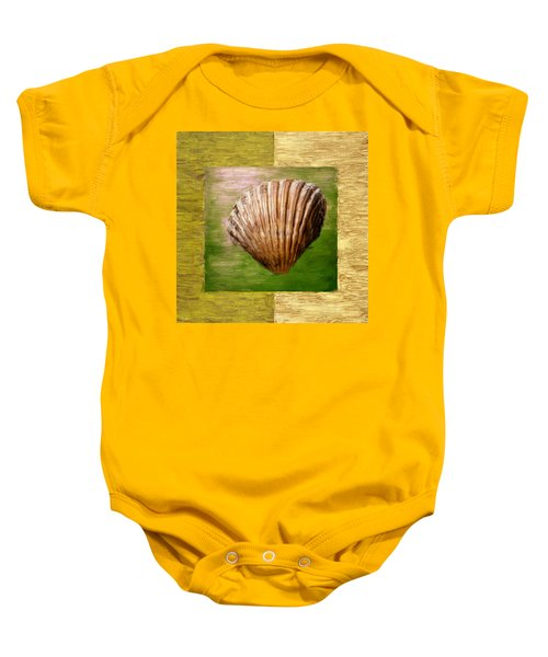 Verde Beach Baby Onesie by Lourry Legarde