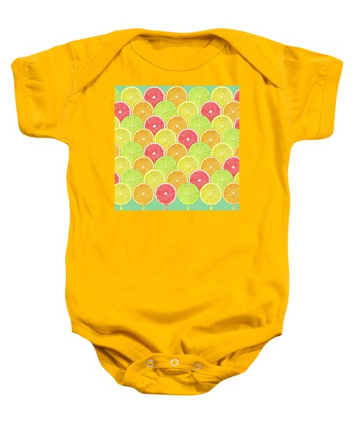 Fresh Fruit  Baby Onesie by Mark Ashkenazi
