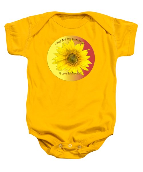 You Are My Sunshine Baby Onesie by Thomas Young