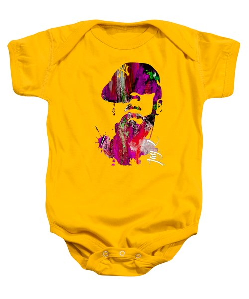 Jay Z Collection Baby Onesie by Marvin Blaine