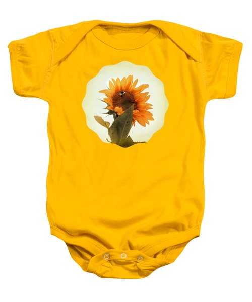 Bee Mine - Paint Baby Onesie by Anita Faye