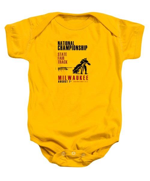 National Championship Milwaukee Baby Onesie by Mark Rogan