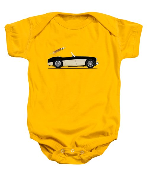Austin Healey 3000 Baby Onesie by Mark Rogan