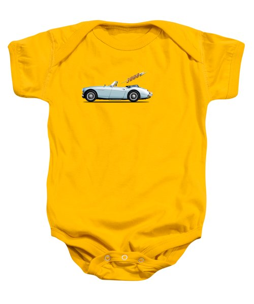 Austin Healey 3000 Mk3 Baby Onesie by Mark Rogan