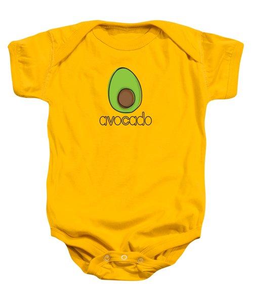 Avocado Baby Onesie by Monette Pangan