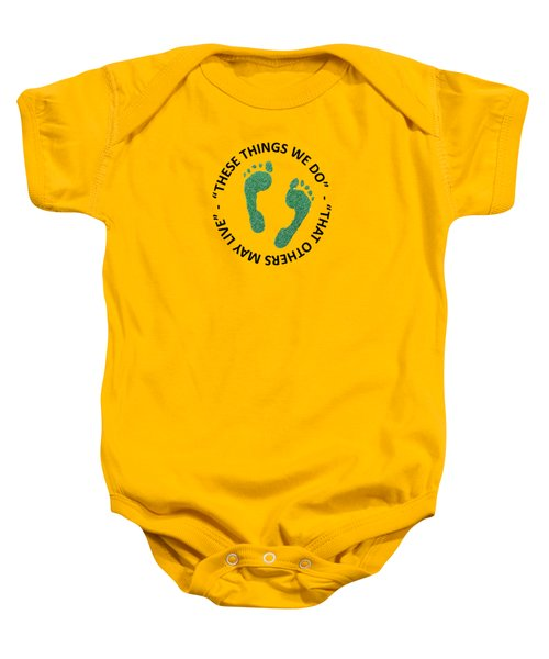 Combat Search And Rescue Baby Onesie by Julio Lopez