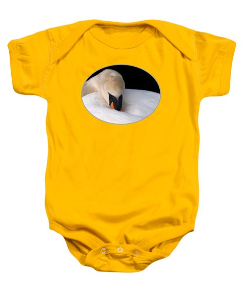 Do Not Disturb - Orange Baby Onesie by Gill Billington
