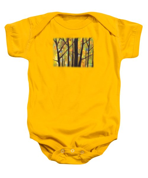 Dreaming Trees 1 Baby Onesie by Hailey E Herrera