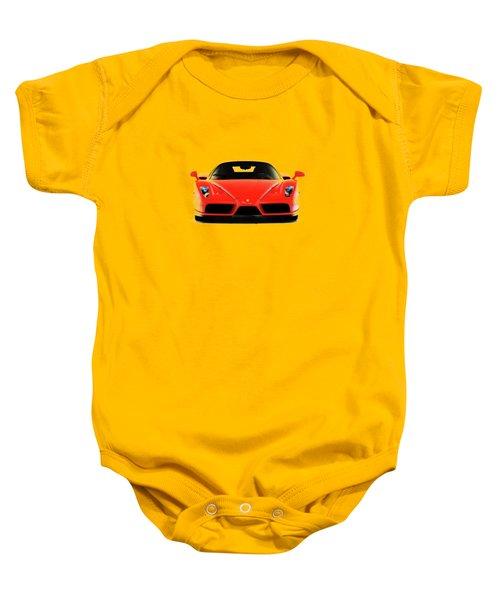 Ferrari Enzo Ferrari Baby Onesie by Mark Rogan