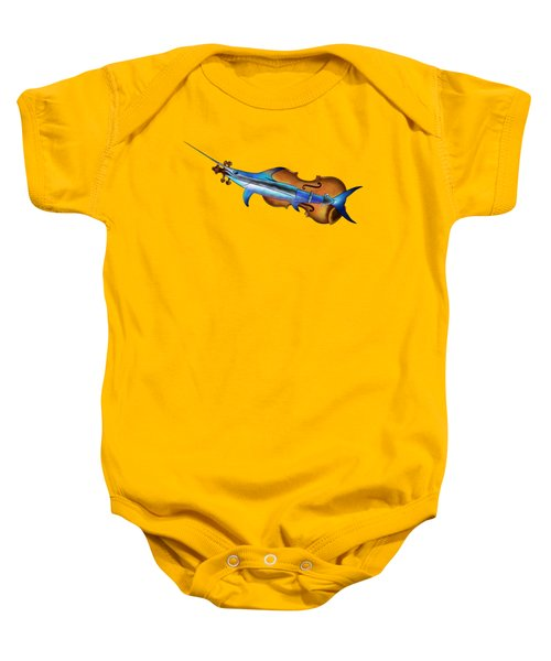 Fisholin V1 - Instrumental Fish Baby Onesie by Cersatti