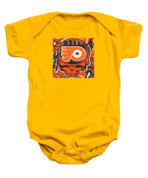 Flyer Love Baby Onesie by Kevin J Cooper Artwork
