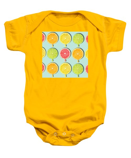 Fruity Baby Onesie by Mark Ashkenazi