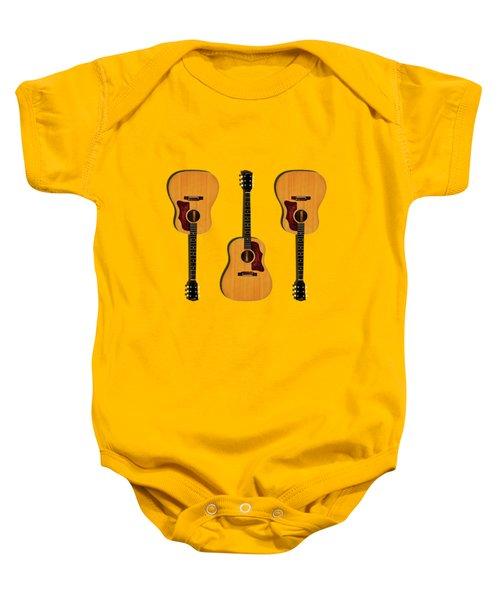 Gibson J-50 1967 Baby Onesie by Mark Rogan